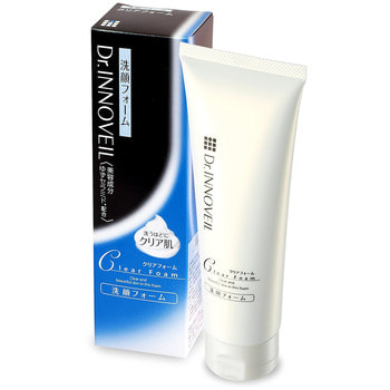 """Product Innovation """"Dr. Innoveil"""" Крем-пенка для сухой, чувствительной, обезвоженной кожи лица с экстратами Юдзу, гранатом и липидурами, 120 мл. (фото)"""