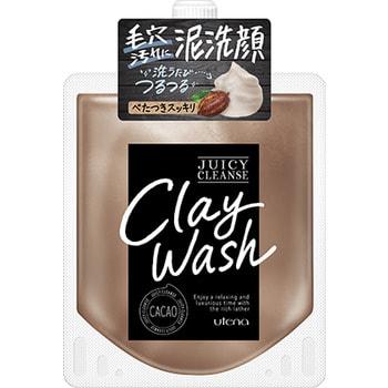 """Utena """"Juicy Cleanse"""" Пенящийся скраб для лица из глины, с аргановым маслом и экстрактом какао, 110 гр."""