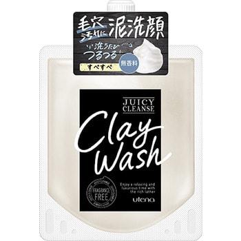 """Utena """"Juicy Cleanse"""" Пенящийся скраб для лица из глины с аргановым маслом, медом и авокадо, 110 гр."""