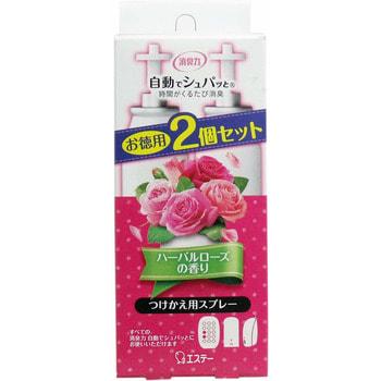 """ST """"Shupatto Shoushuu plug - Розы и травы"""" Сменный баллон для автоматического освежителя воздуха, 39 мл х 2 шт."""