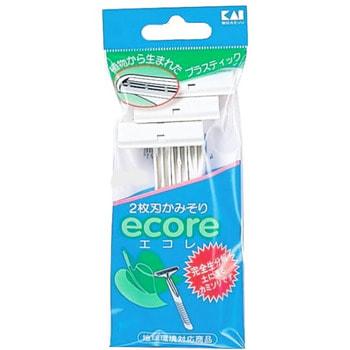 """KAI """"ECO-3P Ecore"""" Одноразовый бритвенный станок с двойным лезвием, 3 шт."""