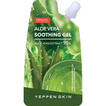 "Yeppen Skin ""Aloe Vera Gel"" Экстраувлажняющий и смягчающий гель, 95% алоэ вера, 20 гр."