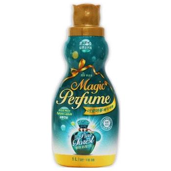 """Mukunghwa """"Aroma Viu Magic Perfume Softner Pure Forest"""" Кондиционер-ополаскиватель для белья и одежды, с кристальным ароматом летнего леса, 1 л."""