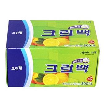 """Clean Wrap Пакеты фасовочные в коробке с системой """"просто достань"""", размер XS, 17 см * 25 см, 300 шт."""