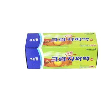Clean Wrap Плотные полиэтиленовые пакеты на молнии, 18 см * 20 см, 50 шт.