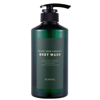 "Eunyul ""Black Seed Therapy Body Wash"" Гель для душа с маслом черного тмина, 500 мл. (фото)"