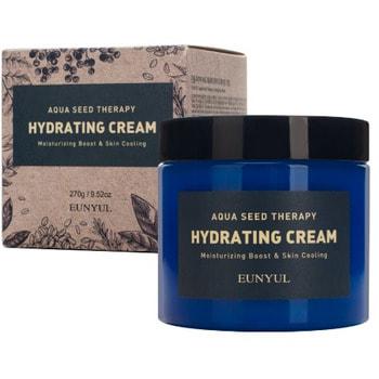 """Eunyul """"Aqua Seed Therapy Hydrating Cream"""" Увлажняющий крем с экстрактом морского винограда и гиалуроновой кислотой, 270 гр."""