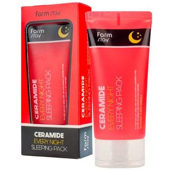 """FarmStay """"Ceramide Every Night Sleeping Pack"""" Ночная маска с керамидами, 120 мл."""