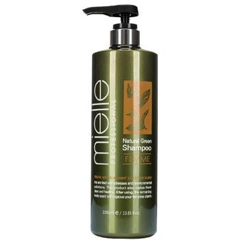 """JPS """"Mielle Professional Natural Green Shampoo Femme"""" Освежающий шампунь с ментолом и экстрактами растений, 1000 мл."""