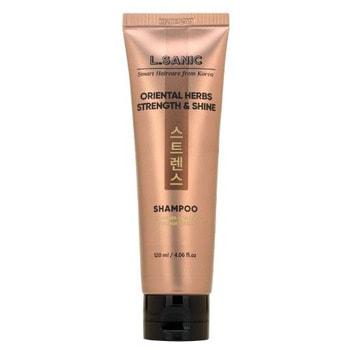 """L.Sanic """"Oriental Herbs Strength & Shine Shampoo"""" Шампунь с восточными травами для силы и блеска волос, 120 мл."""