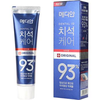 """Median """"Dental IQ Original Tooth Paste"""" Зубная паста для эффективного удаления зубного налета, 120 гр."""