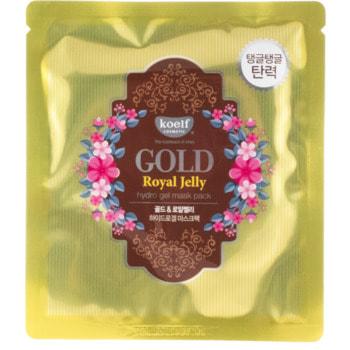 "Koelf ""Gold & Royal Jelly Hydro Gel Mask Pack"" Гидрогелевая маска для лица с коллоидным золотом и пчелиным маточным молочком, 30 гр. (фото)"