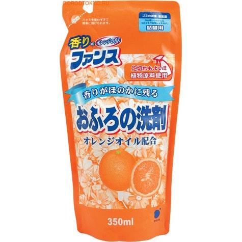 DAIICHI Моющее средство для ванных комнат, душевых кабин, унитазов, с апельсиновым маслом, 350 мл. Запасной блок.
