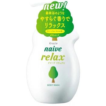 Kracie Мыло жидкое для тела с расслабляющим ароматом зелени и цветов, 530 мл. (фото)