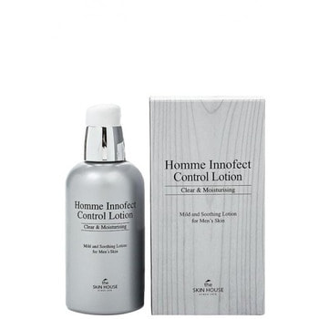 "The Skin House ""Homme Innofect Control Lotion"" увлажняющий и матирующий лосьон для мужчин, 130 мл. (фото)"