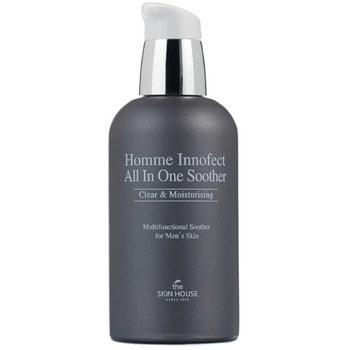 "The Skin House ""Homme Innofect All In One Soother"" многофункциональное средство для ухода за мужской кожей, 130 мл."