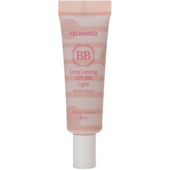 """Celranico """"Long Lasting Soft Bb Light SPF30/PA+++"""" стойкий ВВ крем с эффектом сияния, натуральный оттенок, 20 мл."""
