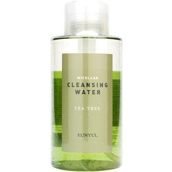 """Eunyul """"Micellar Cleansing Water Tea Tree"""" мицеллярная очищающая двухфазная вода c чайным деревом, 500 мл."""
