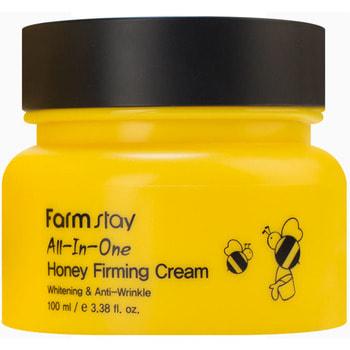 "FarmStay ""All-In-One Honey Firming Cream"" укрепляющий крем для лица с экстрактом меда, 100 мл."