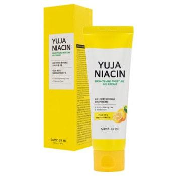 """Some By Mi """"Yuja Niacin Brightening Moisture Gel Cream"""" выравнивающий гель-крем с экстрактом юдзу, 100 мл."""