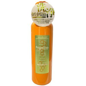 """Pieras """"Propolinse Pure"""" Ополаскиватель для полости рта, с индикацией загрязнения, с прополисом, мягкий вкус, 600 мл. (фото)"""