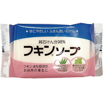 """Kaneyo """"Fukin Soap"""" Кухонное хозяйственное мыло, с мятой, 135 гр."""