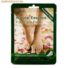 MBeauty Cosmetics Маска для ног - Интенсивный уход, (20 минут), 1 пара.Кремы, скрабы и другая косметика для ног<br>Маска для ног - Интенсивный уход, (20 минут). <br>Маска-носки разработаны специально для максимально комфортного и эффективного ухода за кожей ног.  Уникальное сочетание таких компонентов, как масло ши, экстракты гингко, перечной мяты, миндаля и витамина Е позволяет быстро и эффективно смягчить кожу, препятствуя огрубению.  Эффективно устраняет сухость и трещины.  Маска состоит из двух слоев.  Верхний слой - пленка, нижний слой ; тканевая поверхность салфетки.  За счет плотного прилегания маски к коже и верхнего слоя в виде пленки, усиливается кровоток в верхних слоях кожи (так называемый эффект сауны), что способствует более глубокому проникновению увлажняющих средств. <br> Применение:  <br><br>Тщательно вымойте и высушите ноги.<br>Достаньте маски из упаковки и наденьте.<br>Через 15-20 минут сниммите.<br>