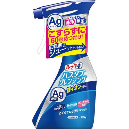 """Lion """"Look Plus"""" Чистящее средство для ванной комнаты быстрого действия, аромат трав и мяты + ионы серебра, спрей, 500 мл. (фото)"""