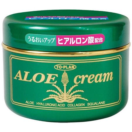 """To-Plan """"Aloe Skin Cream"""" Крем для лица с экстрактом алоэ, с гиалуроновой кислотой, коллагеном и скваланом, 170 гр. (фото)"""