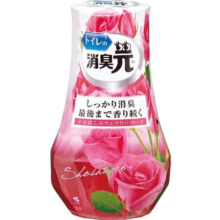 """Kobayashi """"Shoshugen Fairy Rose"""" Жидкий дезодорант для туалета """"Сказочная роза"""", с элегантным ароматом роз, 400 мл. (фото)"""
