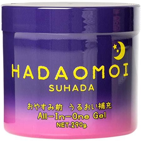 Гель для лица и тела Akari Hadaomoi Suhada ночной увлажняющий и питательный с концентратом стволовых клеток 290 г id18190