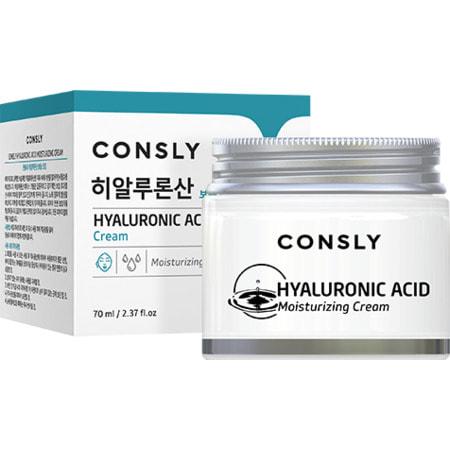 "Consly ""Hyaluronic Acid Moisturizing Cream"" Крем для лица увлажняющий с гиалуроновой кислотой, 70 мл. (фото)"