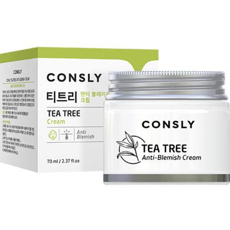 """Consly """"Tea Tree Anti-Blemish Cream"""" Крем для проблемной кожи с экстрактом чайного дерева, 70 мл. (фото)"""