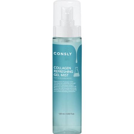 """Consly """"Collagen Refreshing Gel Mist"""" Освежающий гель-мист для лица с коллагеном, 120 мл. (фото)"""