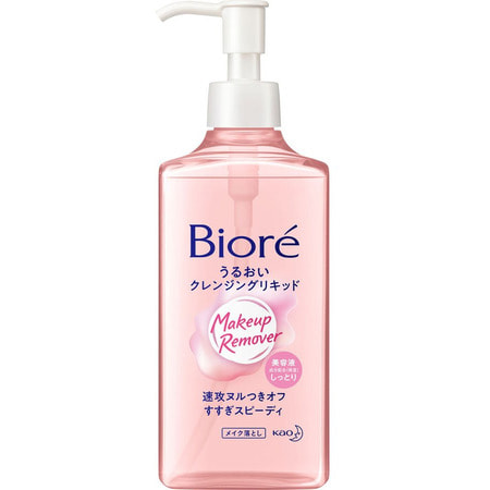 """KAO """"Biore Mild Cleansing Liquid"""" Сыворотка для умывания и снятия макияжа, 230 мл. (фото)"""