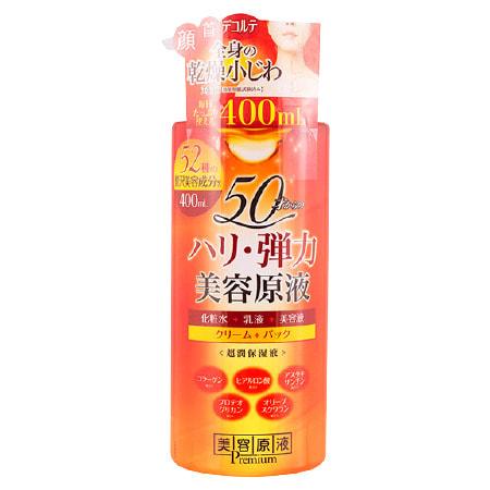 "Cosmetex Roland ""Premium Super Moisturizer"" Лосьон-эссенция для комплексного ухода за кожей лица, на основе 58 косметических ингредиентов, 400 мл. (фото)"