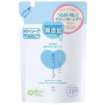 Gyunyu Sekken (COW) Жидкое мыло для чувствительной кожи с растительными аминокислотами, 400 мл. Сменная упаковка.