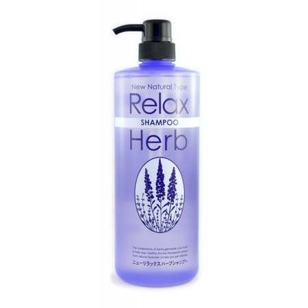 JUNLOVE NEW RELAX HERB SHAMPOO / Растительный шампунь для волос с расслабляющим эффектом, 1000 мл.ДЛЯ НОРМАЛЬНЫХ ВОЛОС<br>Описание: Новый расслабляющий растительный шампунь от JUNLOVE содержит 100% натуральное масло лаванды!  Растительные компоненты средства глубоко проникают в Ваши волосы и кожу головы, помогая им оставаться здоровыми.  Ароматерапевтическое действие натурального масла лаванды позволяет вам расслабиться.   Активные компоненты: Масло лаванды издавна применяется в ароматерапии. Оно снимает напряжение, устраняет головную боль, обладает расслабляющим действием. Масло оздоравливает кожу головы, предотвращает появление перхоти и устраняет ломкость волос.    Экстракт плюща тонизирует, улучшает кровообращение, предотвращает появление перхоти и кожного зуда, препятствует выпадению волос.  Шампунь содержит природный растительный экстракт мыльнянки лекарственной, который обладает нежным очищающим эффектом. После использования шампуня Ваши волосы станут мягкими и шелковистыми.  Обладает низкой кислотностью, без красителей и ароматизаторов.  Обладает ароматом натурального масла лаванды.   Способ применения: Намочите волосы. Выдавите необходимое количество шампуня и массирующими движениями вотрите в волосы. После мытья тщательно ополосните.   Состав: вода, кокамид ДЕА, (С12, 13) парет-3 сульфат натрия, пропилен гликоль, кокоил саркозинат натрия, натрия кокоамфоацетат, экстракт мыльнянки лекарственной, экстракт плюща, лимонная кислота, хлорид натрия, поликвотаниум-10, стеарамид этилдиэтиламин, метил глюкоза диолеат PEG - 120, масло лаванды, феноксиэтанол, поливинилпирролидон, BG, лаурилсульфат ТЭА, 2Na-ЭДТА, метилпарабен, пропилпарабен.<br>