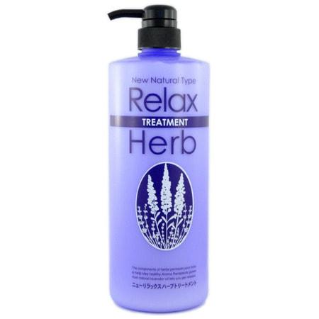 JUNLOVE NEW RELAX HERB TREATMENT / Растительный бальзам для волос с расслабляющим эффектом, 1000 мл.