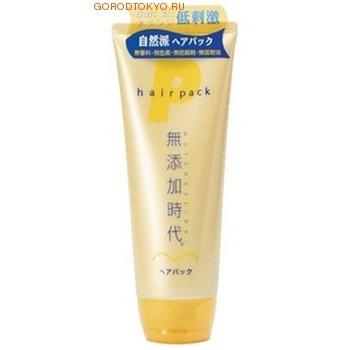 REAL Mutenka Jidai Hair Pack / Маска для волос без искусственных добавок, 220 гр.ДЛЯ НОРМАЛЬНЫХ ВОЛОС<br>Маска не содержит парфюмерных отдушек, красителей, минеральных масел, консервантов класса парабенов. Моментально проникает в волосы и кожу головы, поддерживает оптимальный уровень влаги. Поддерживает здоровый вид и состояние волос и кожи головы, давая ощущение продолжительного увлажнения, даже после того, как волосы высыхают. В составе - натуральные увлажняющие растительные компоненты - экстракты лакричника, листьев персикового дерева, хмеля, горького апельсина, а также масло ореха макадамия, которое имеет свойство проникать в повреждённые участки волос, придавая волосам блеск, упругость и эластичность. Обладает освежающим ароматом цитрусовых фруктов.   Способ применения: нанести необходимое количество средства на чистые, влажные волосы и кожу головы, хорошо смыть тёплой водой. На особенно повреждённых участках волос можно оставить средство на 5-6 минут, после чего смыть. Рекомендуемое количество применений: 1-2 раза в неделю. Если волосы очень повреждены, можно наносить средство после каждого применения шампуня. Эффективность действия усилится, если применять в сочетании с шампунем и бальзамом для волос этой же серии.   Состав: вода, гидрогенизированное рапсовое масло, глицерин, диметикон, гидрогенизированное пальмоядерное масло, пчелиный воск, оксигидроксипропиларгинин HCl, кокоилалкининэтил РСА, стеарилтримониумбромид, масло ореха Макадамия, экстракт лакричника, хинокитиол, масло горького апельсина, экстракт хмеля, экстракт листьев персикового дерева, лимонная кислота, этоксидигликоль, BG, изопропанол.<br>