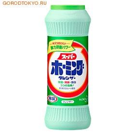 KAO «Супер Хоминг» Порошок очиститель-отбеливатель от подгаров и жиров, 400 гр.