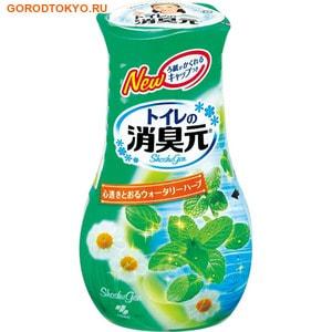 """KOBAYASHI """"Shoshugen"""" Жидкий дезодорант для туалета с ароматом мятных трав, 400 мл. от GorodTokyo"""