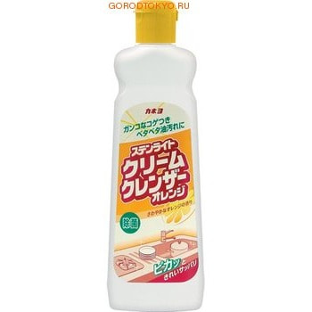 """Kaneyo Крем чистящий для кухни """"Kaneyo – апельсиновая свежесть"""", 400 гр."""