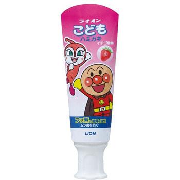 Lion Детская зубная паста слабообразивная, со вкусом клубники, 40 гр. (фото)