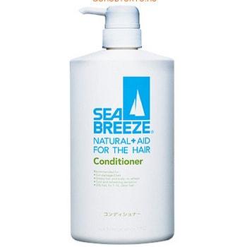 """SHISEIDO """"Sea Breeze"""" Кондиционер для волос """"Морской бриз"""" для жирной кожи головы и всех типов волос, c ароматом морской свежести, 600 мл."""