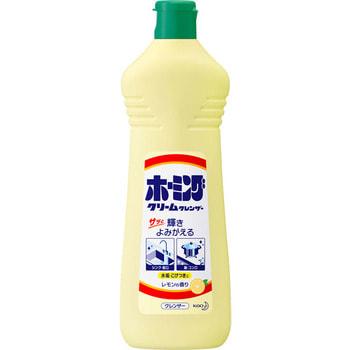 """KAO """"Homing Lemon"""" Универсальный чистящий крем для удаления стойких загрязнений на кухне, от подгаров и жиров, запах лимона, 400 гр."""