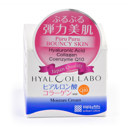 MEISHOKU HYALCOLLABO CREAM / Глубокоувлажняющий крем (с наноколлагеном и наногиалуроновой кислотой), 48 гр.