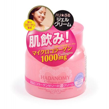 """Sana """"Hadanomy Cream"""" Крем для лица с коллагеном и гиалуроновой кислотой, 100 гр. (фото)"""