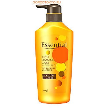 "KAO �������-������� ��� �����, ����������, ������ ����������� ����� ""Essential Damage Care Rich"", 500 ��."