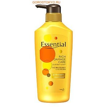 """KAO Премиум-кондиционер для сухих, окрашенных, сильно повреждённых волос """"Essential Damage Care Rich"""", 500 мл."""